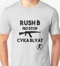 Rush B No Stop - CSGO Unisex T-Shirt