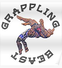 Grappling Beast  Poster