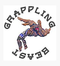 Grappling Beast  Photographic Print