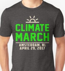 People's Climate March Amsterdam, NL 2017 Tee Shirt  T-Shirt