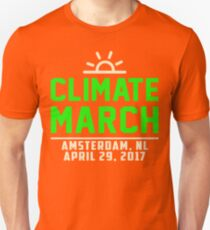 People's Climate March Amsterdam, NL 2017 Tee Shirt  Unisex T-Shirt