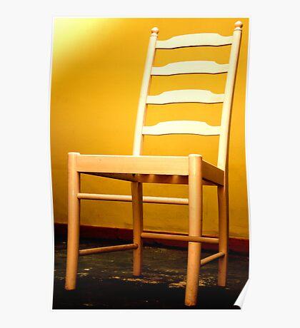 Escher's Chair Poster