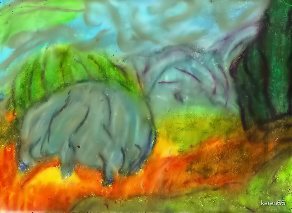 Pastel Landscape by karen66