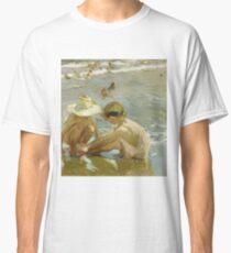 Joaquin Sorolla Y Bastida - The Wounded Foot1909 Classic T-Shirt