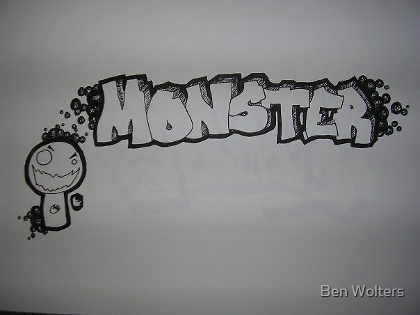 monster by Ben Wolters