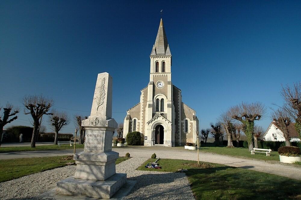 Church, Cormeray, France, Europe 2012 by muz2142