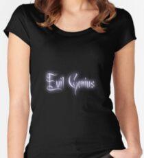 Evil Genius Women's Fitted Scoop T-Shirt