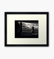They Come and Go Framed Print
