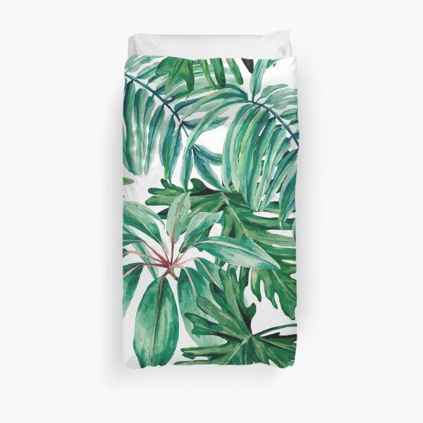 Tropical jungle Duvet Cover