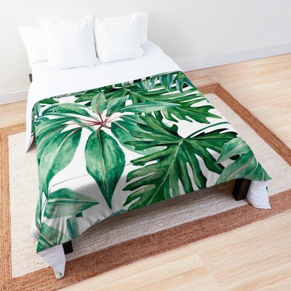 Tropical jungle Comforter