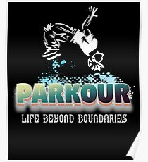 Parkour Design - Life Beyond Boundaries Poster