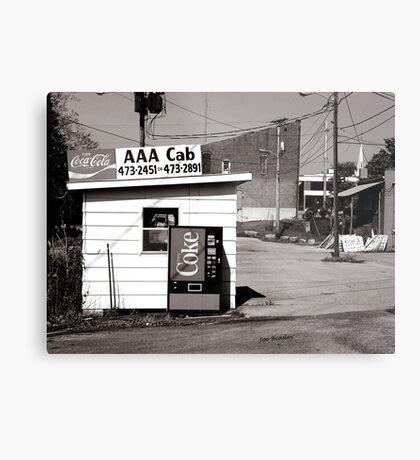 AAA Cab Metal Print