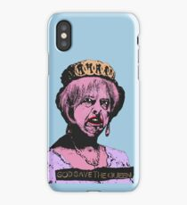 God (May) Save The Queen iPhone Case/Skin