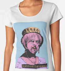 God (May) Save The Queen Women's Premium T-Shirt