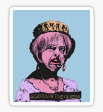 God (May) Save The Queen Sticker