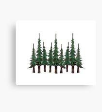 The Evergreens Canvas Print