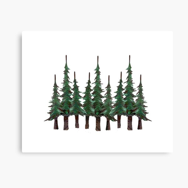 The Evergreens Canvas Print