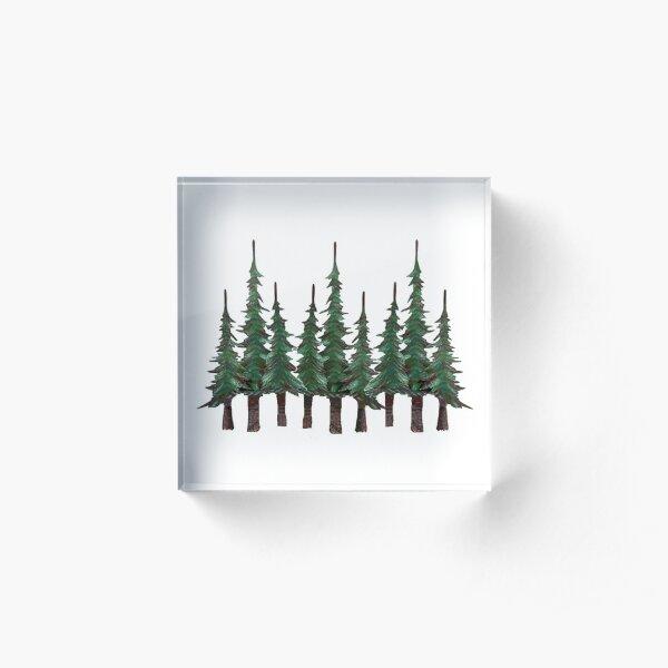 The Evergreens Acrylic Block