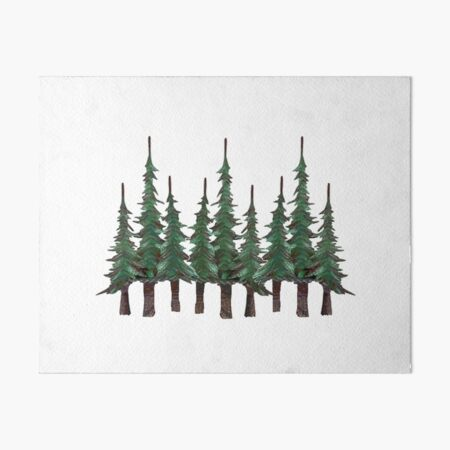 The Evergreens Art Board Print