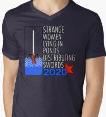 Camiseta de cuello en V Supreme Executive Power 2020