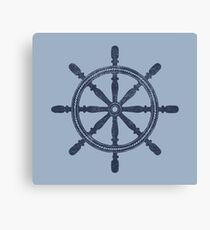 Nautical Wheel Canvas Print