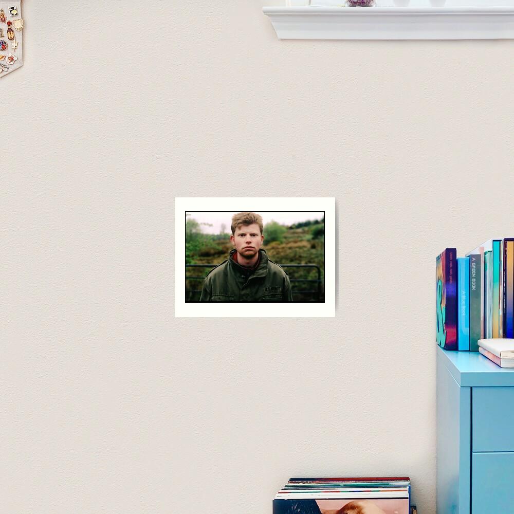 Conor McMahon Film Director Art Print