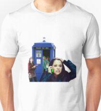 Sestras in the TARDIS Unisex T-Shirt