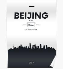 Poster city skyline Beijing Poster