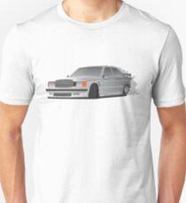Mercedes benz w124 Unisex T-Shirt