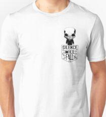 Pocket Silence Doctor Who Unisex T-Shirt