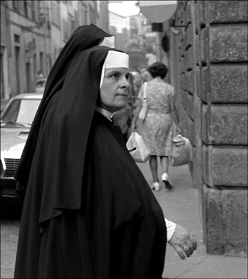 Nuns, Florence by david malcolmson