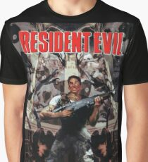 Resident Evil PS1 Box Art Graphic T-Shirt