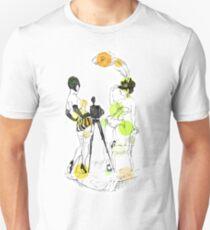 Two girls - green Unisex T-Shirt