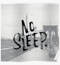 No sleep till... Poster