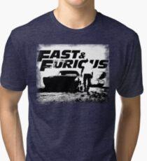 Fast e Furious 8 Tri-blend T-Shirt