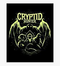 Cryptid Hunter Photographic Print