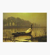 John Atkinson Grimshaw - The Lady Of Shalott 1875 Photographic Print