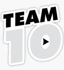 Team 10 sticker Sticker