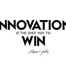 innovation: way to win - steve jobs by razvandrc