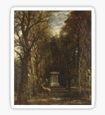 John Constable - Cenotaph To The Memory Of Sir Joshua Reynolds Sticker