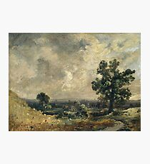 John Constable - English Landscape, Undated Photographic Print