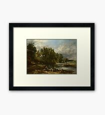 John Constable - Stratford Mill Framed Print