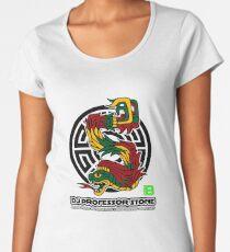 DJ Professor Stone - July 2012 Merch ver 777 black Women's Premium T-Shirt
