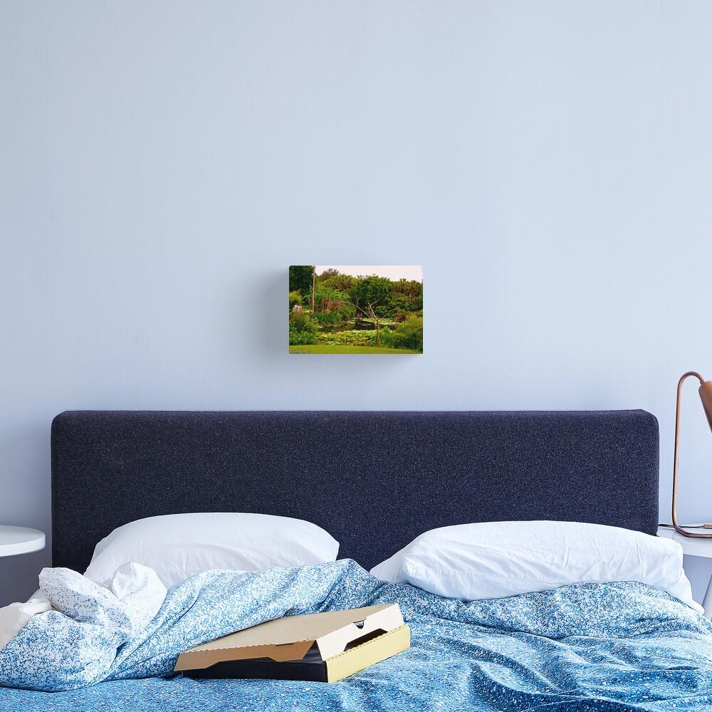 Lakeside Stroll Canvas Print