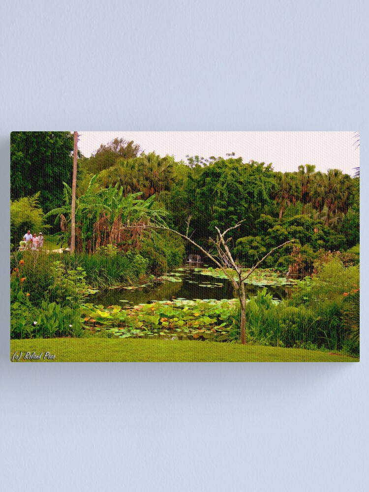 Alternate view of Lakeside Stroll Canvas Print
