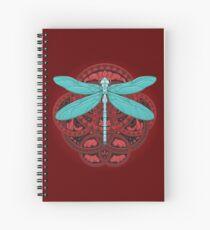 Cuaderno de espiral Dragonfly Fire