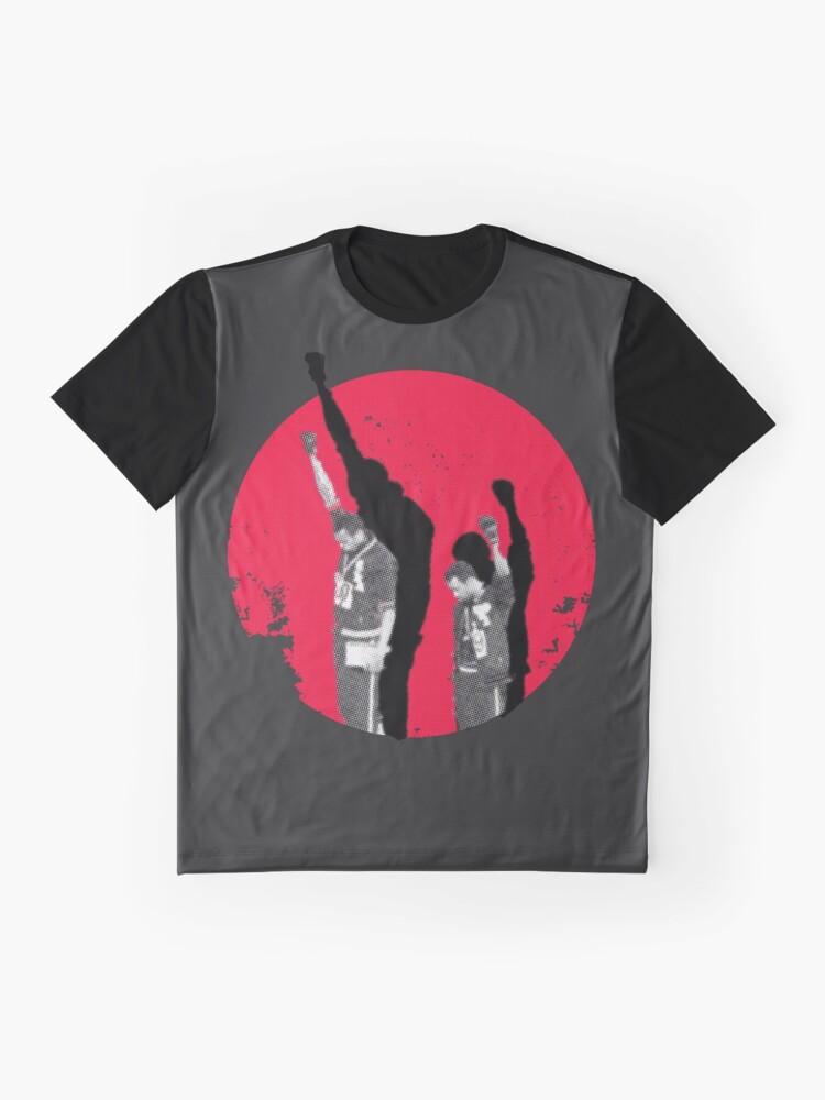 Alternative Ansicht von Momente in der Geschichte - Mexiko 68 - Tommie Smith Grafik T-Shirt