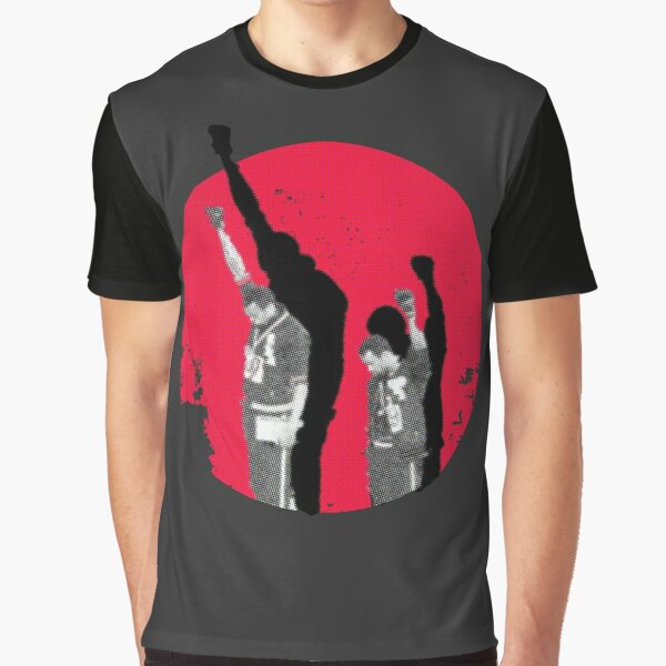 Moments in history - mexico 68 - Tommie Smith Graphic T-Shirt