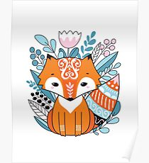 Ethnic Fox Poster