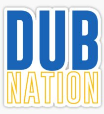 DUB NATION  Sticker